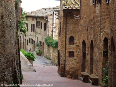 San Gimignano stradina