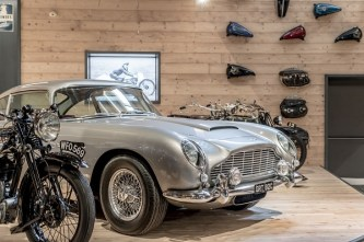 Museo Moto d'Epoca - Auto esposta