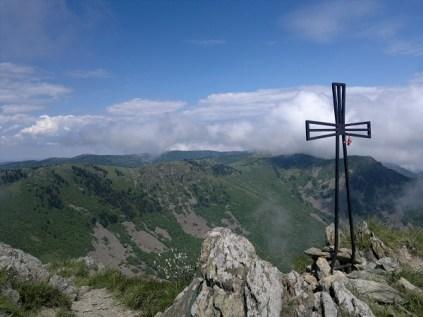 La Croce sul Ponte Rama sui Monti su Riviera di Ponente ligure