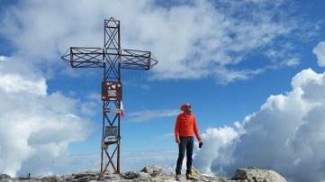 Punta Marguareis raggiunta croce