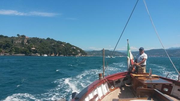Lazigoela verso Portovenere