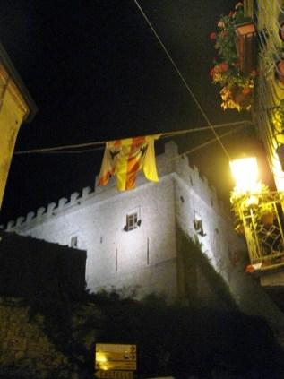 Montalbano Elicona Castello serale