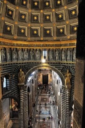 cupola interni duomo siena