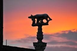 statua lupa Siena
