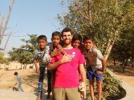Ragazzini indiani alla Don Bosco Academy