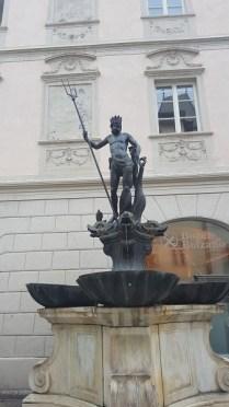 Bolzano fontana nettuno
