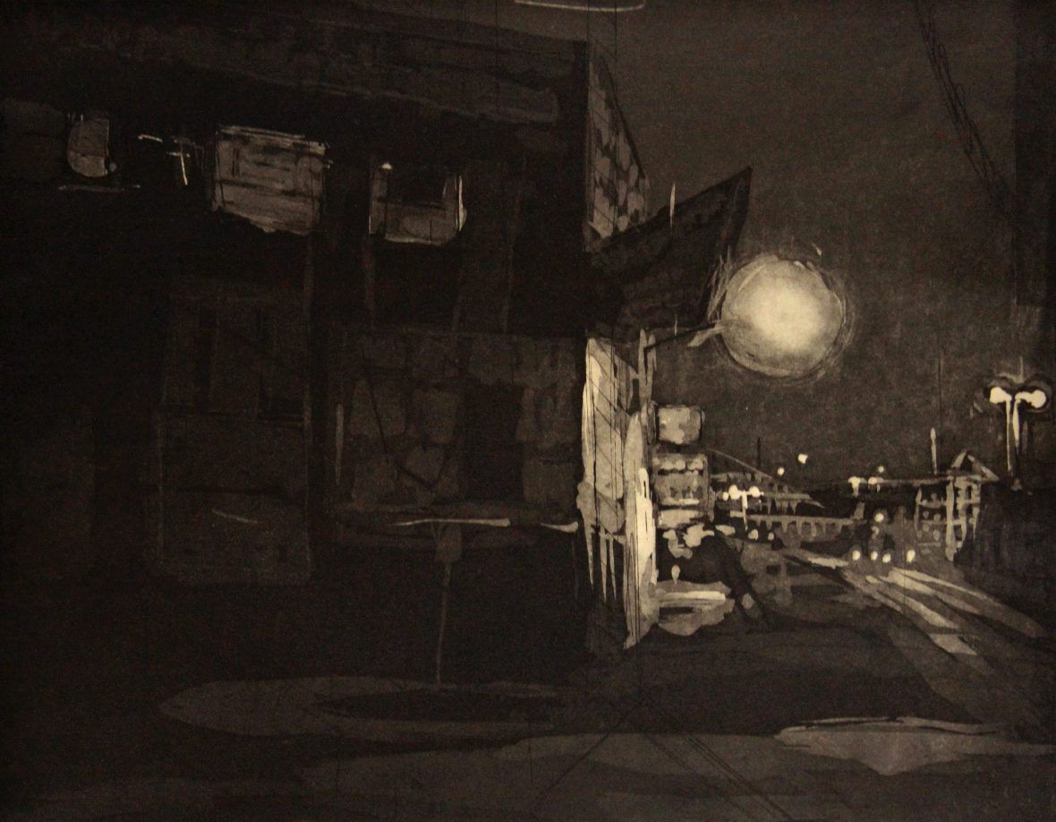Corner at Night