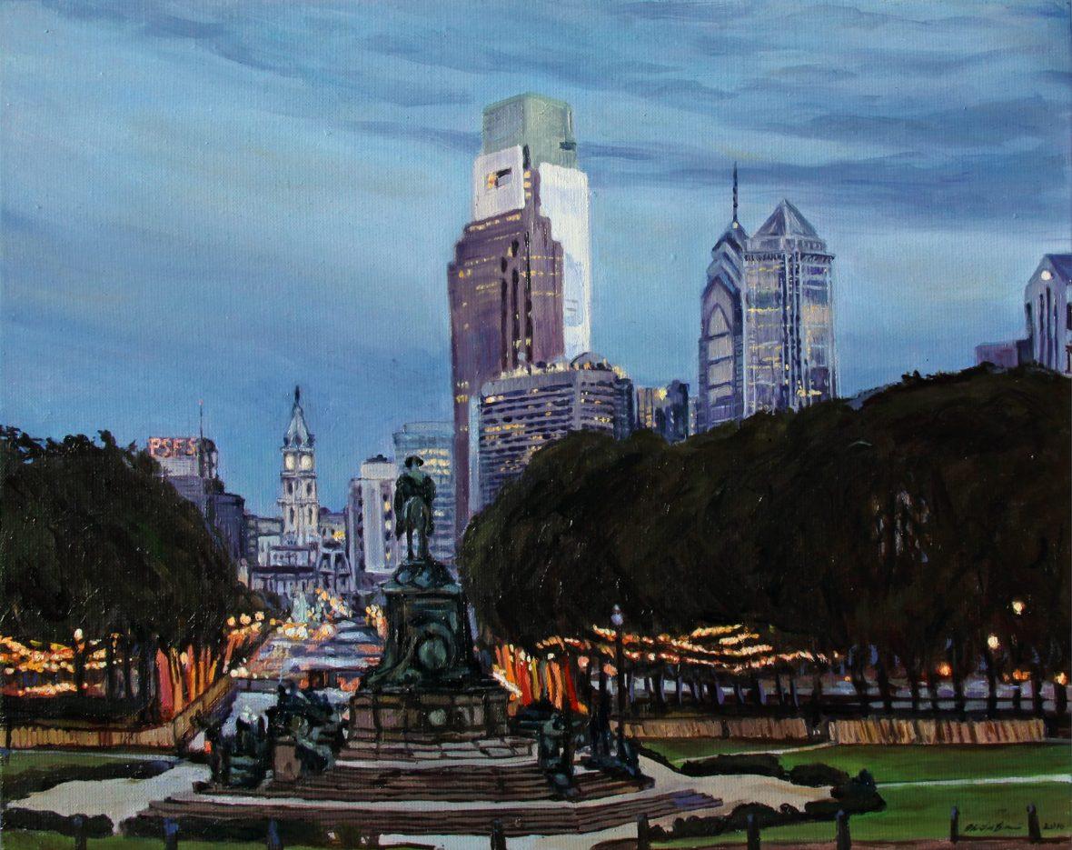 Philadelphia Nightfall