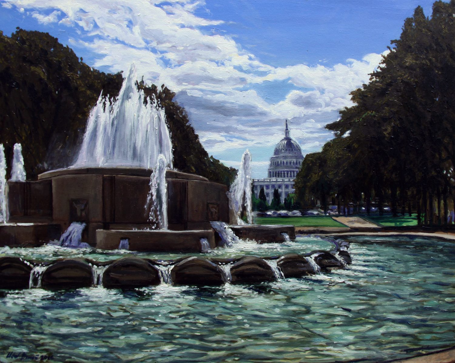 Senate Fountain