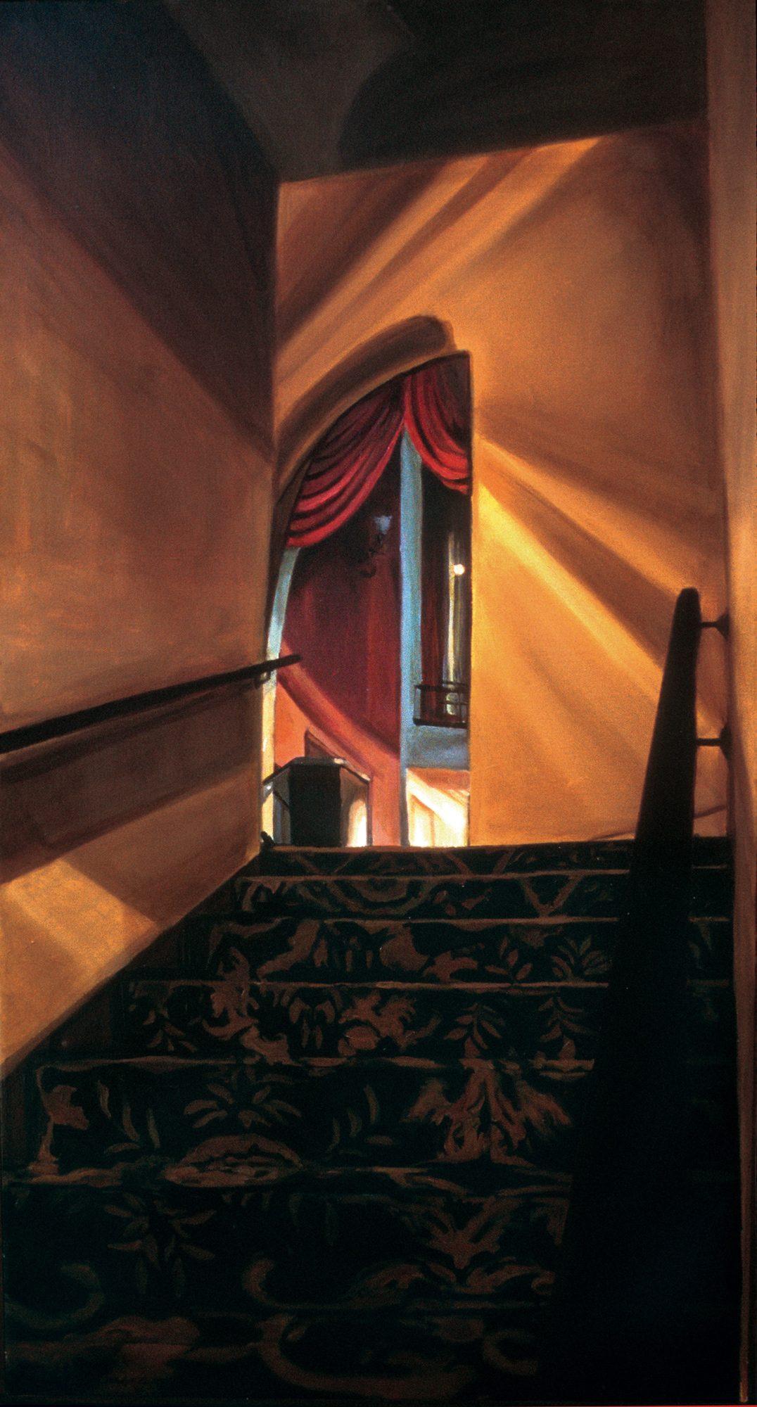 Entering The Balcony