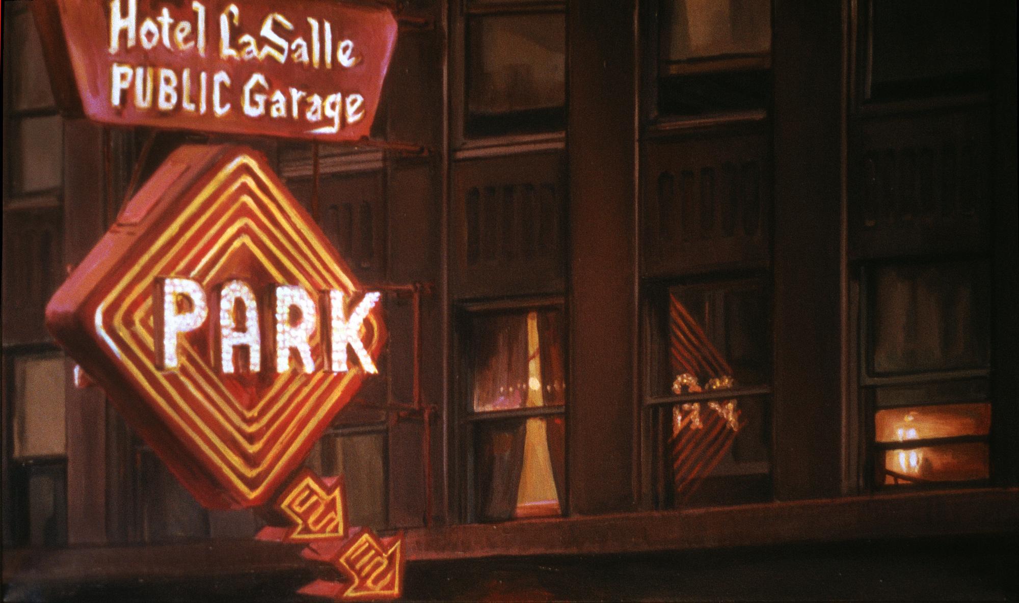 Hotel LaSalle Garage