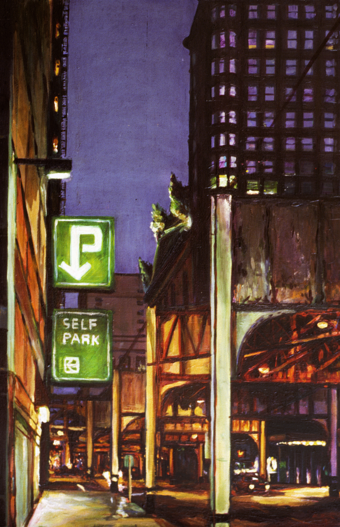 Street at Night (Self-Park)