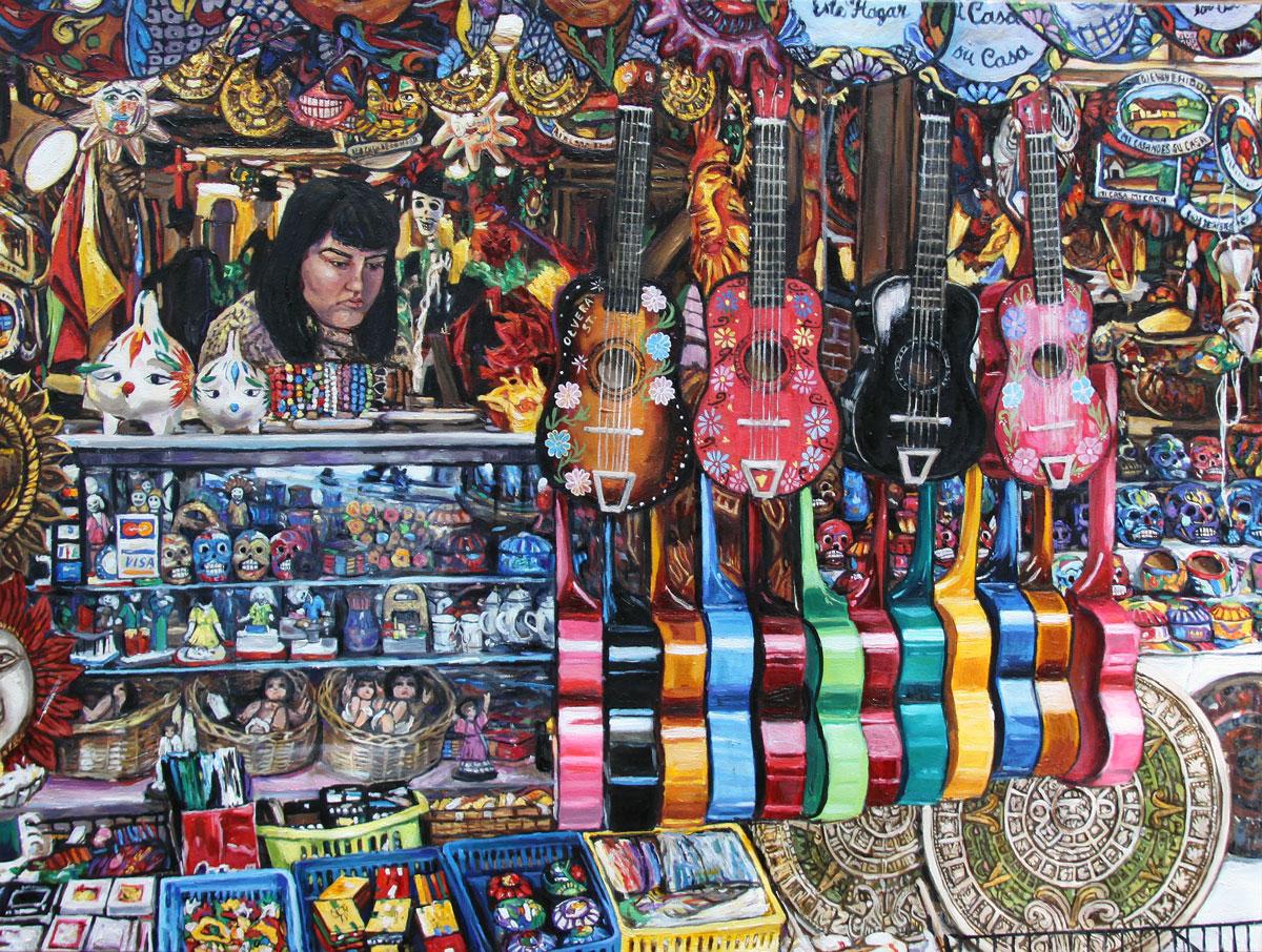 Olvera Street Vendor