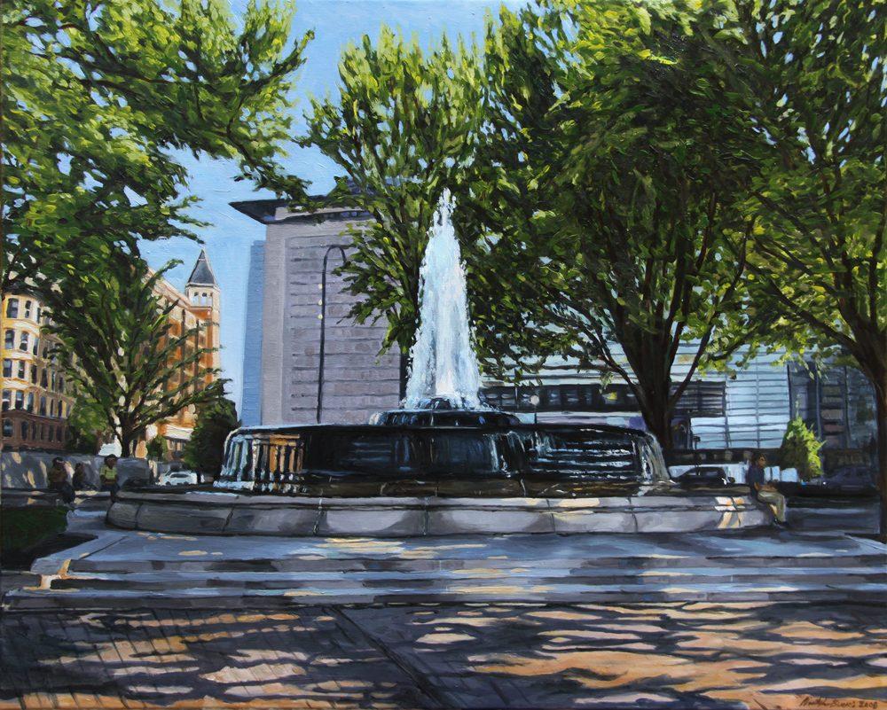 Mellon Fountain, Morning Light