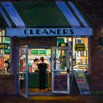 Dry Cleaner at Night