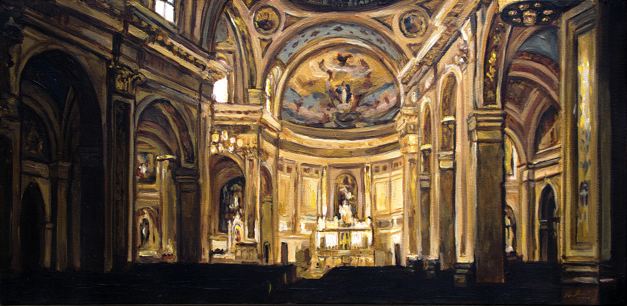 Church Interior (St. Mary of the Angels)