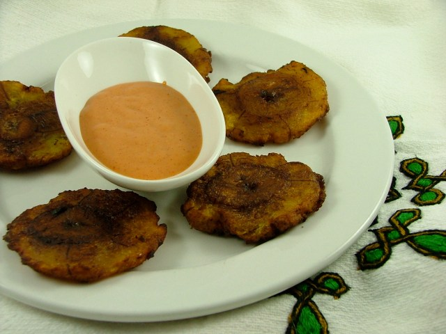 TOSTONES Deep Fried Plantains