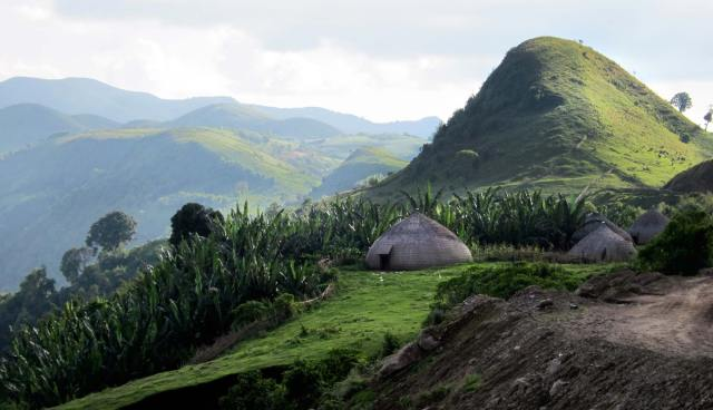 Ethiopian Hills and Huts