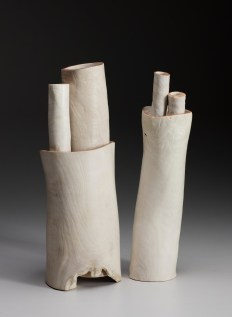 """14"""" x 6"""" x 9"""" 6 Part Bleached Madrone Root"""