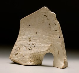 """16"""" x 17"""" x 5"""" Bleached Madrone Burl"""