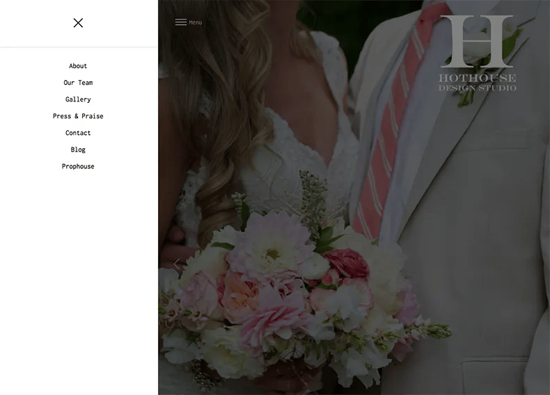 HotHouse Floral Studio Website Design