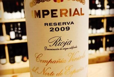Imperial réserva 2009 Rioja