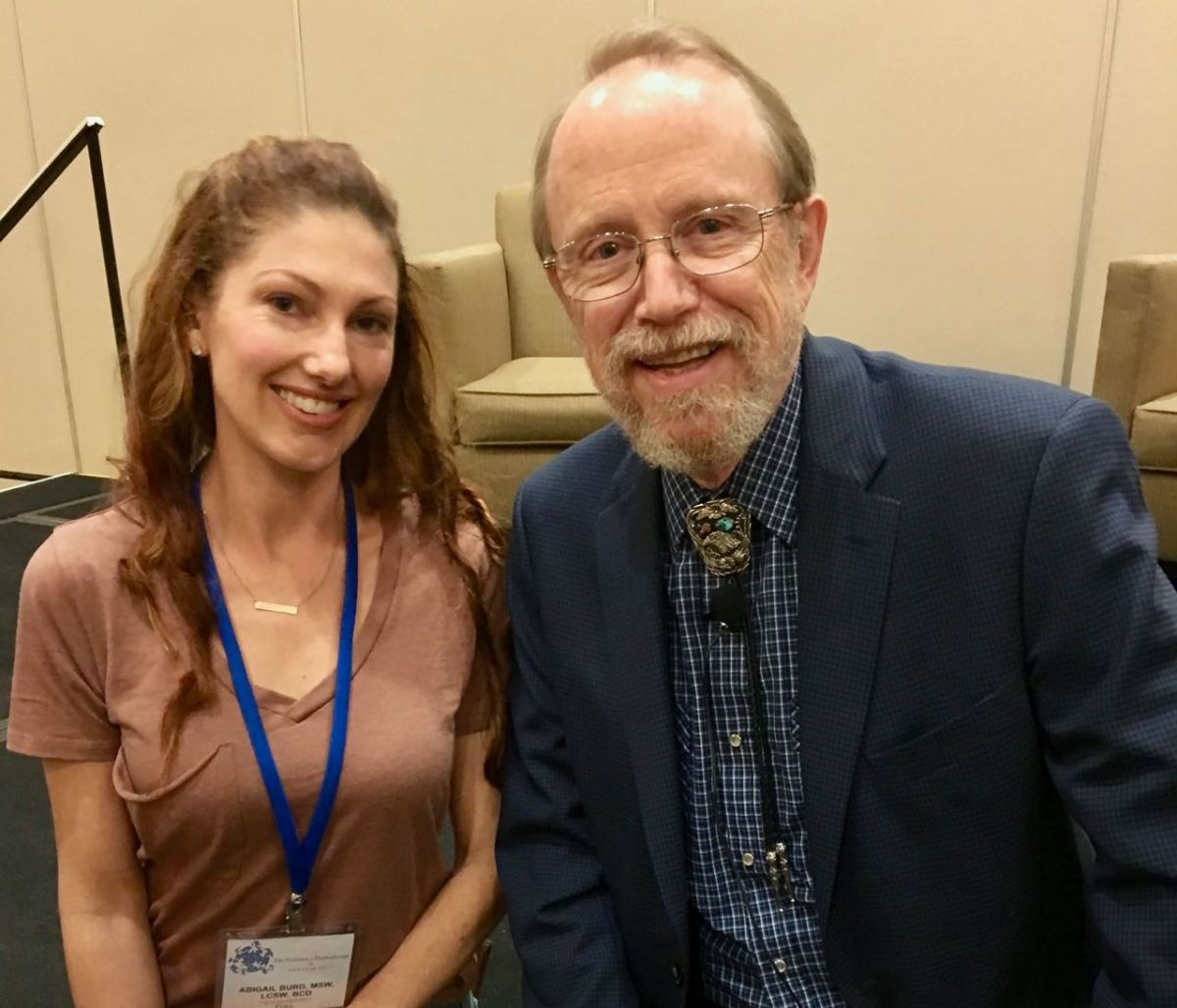 Founder of Motivational Interviewing, William Miller, PhD, and San Diego Psychotherapist Abigail Burd, LCSW, BCD