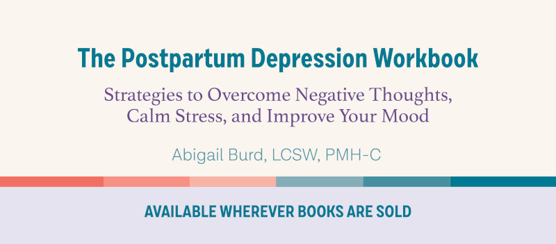 The Postpartum Depression Workbook - giveaway and reviews
