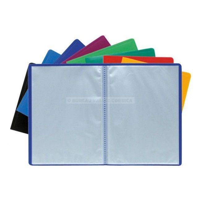 Protege Documents A4 40 Vues 20 Pochettes Exacompta