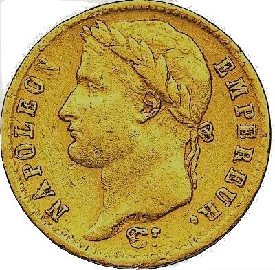 20 Francs or Napoléon I louis d'or