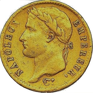20 Francs or Napoléon I louis d'or