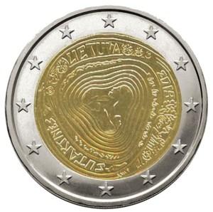 2 euros Lituanie Sutartine 2019