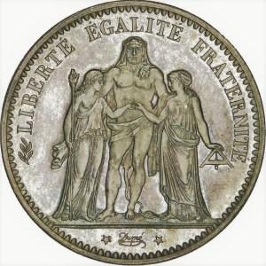 5 Francs argent hercule