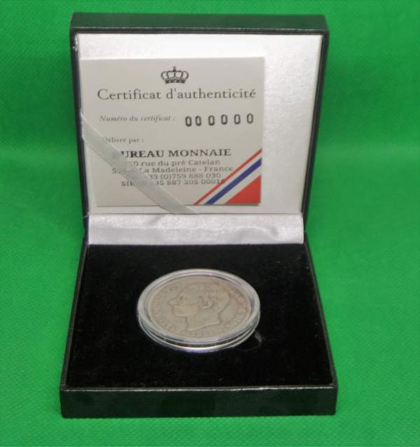 Alfonso XII 5 pesetas en argent
