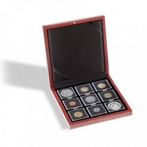 Boite numismatique collection union latine en argent
