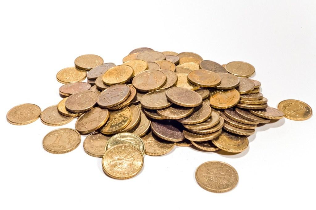 money, coins, gold