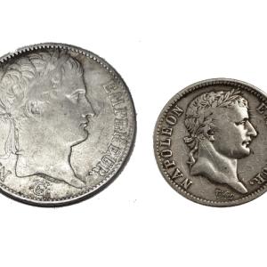Coffret argent Napoléon Bonaparte pièces