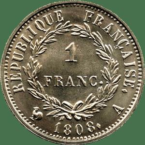 Napoléon 1er 1 franc