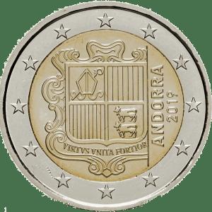 2€ Andorre 2019
