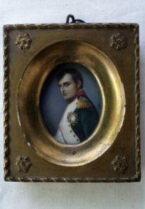 Miniatur Napoleon Bonaparte (Museum Burg Posterstein)