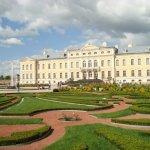 Schloss Ruhental, Lettland, (lettisch: Rundāles pils) wird oft als