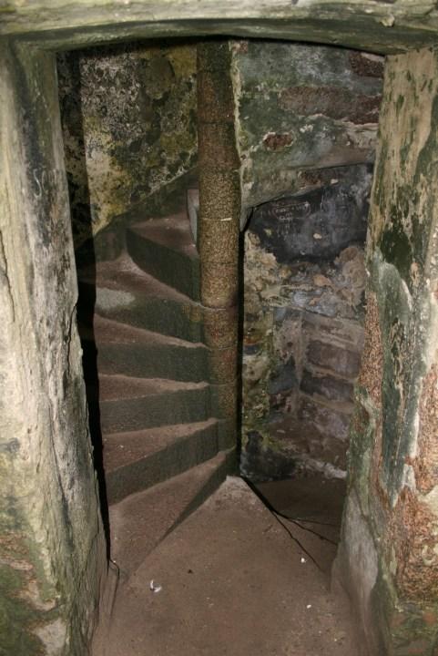 Clains Castle Dracula Bram Stoker Schottland Küste