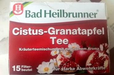 Mein Anti-Aging-Tipp zum Trinken: Cistus-Granatapfel-Tee