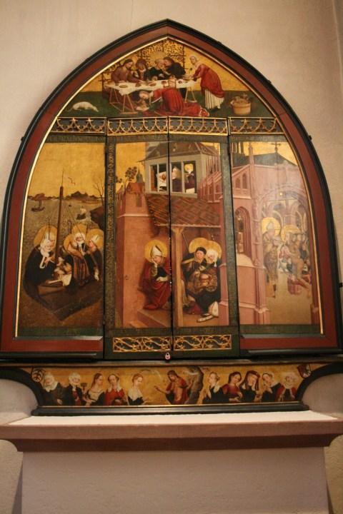Magdalenenaltar Lucas Moser Maria Magdalena Schwarzwald Baden Würtemberg