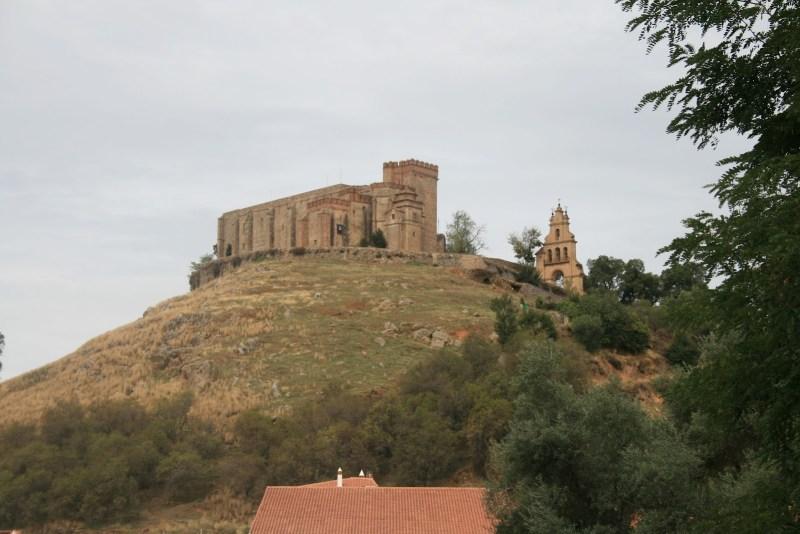 Arcena Spanien, Burg Templer Tempelritter