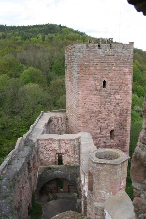 Henneburg Spessard Burgruine Franken Burg