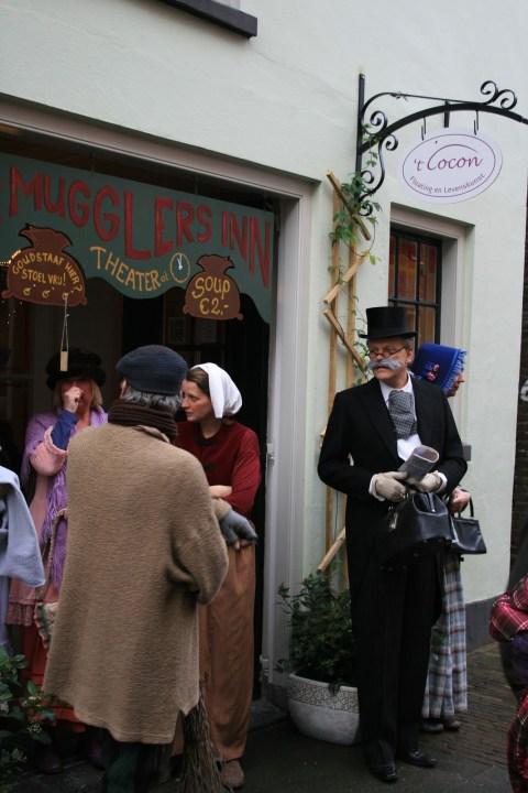 Deventer Charles Dickens Weihnachtsmarkt, Festijn