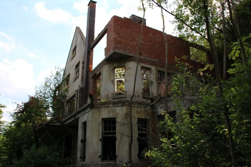 Spukhaus, Weser Lutterburg Lost place