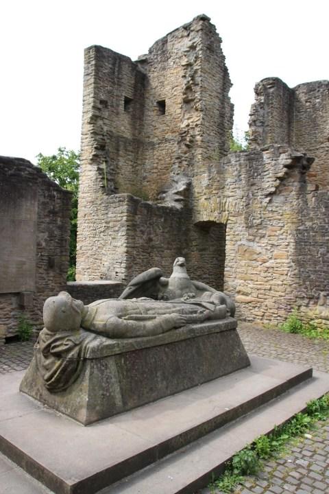 Hohensyburg Burgruine Dortmund Spukhaus Syburg