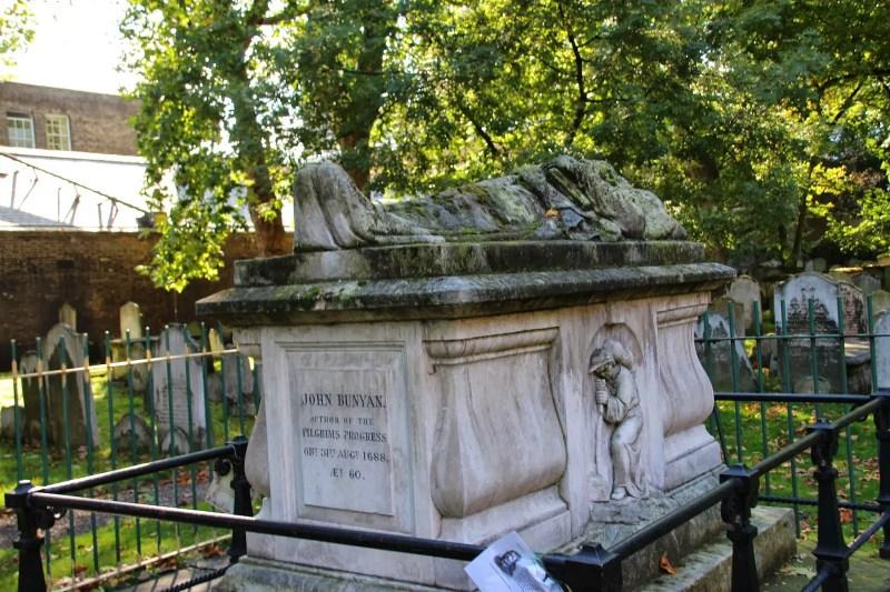 Bunhill Fields Cemetery John Bunyan